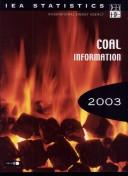 Cover of: Coal Information 2003 | Organisation for Economic Co-operation and Development