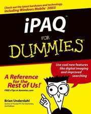 Cover of: iPAQ for dummies |