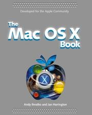 Cover of: The Mac OS X Panther Book