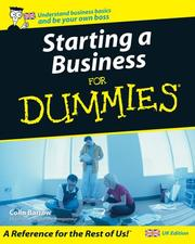 Cover of: Starting a Business for Dummies