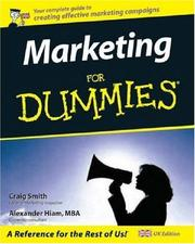 Cover of: Marketing for Dummies