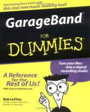 Cover of: GarageBand For Dummies