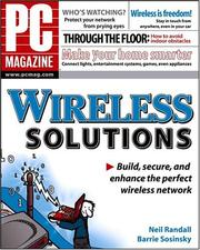 Cover of: PC Magazine Wireless Solutions (PC Magazine) | Neil Randall