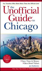 Cover of: The Unofficial Guide to Chicago (Unofficial Guides)