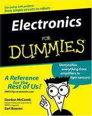 Cover of: Electronics for dummies