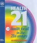 Cover of: Health21 by