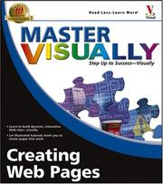 Cover of: Master visually creating Web pages