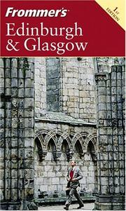 Cover of: Frommer's Edinburgh & Glasgow