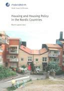 Cover of: Housing And Housing Policy In The Nordic Countries