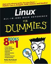Cover of: Linux all-in-one desk reference for dummies | Nabajyoti Barkakati