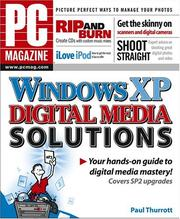 Cover of: PC Magazine Windows XP Digital Media Solutions | Paul Thurrott