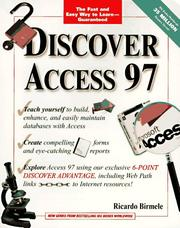 Cover of: Discover Access 97