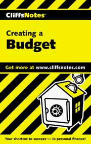 Cover of: Creating a Budget (Cliffs Notes) | Mercedes Bailey
