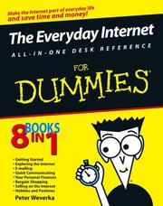Cover of: The everyday Internet all-in-one desk reference for dummies