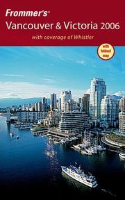 Cover of: Frommer's Vancouver & Victoria 2006