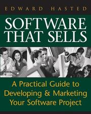 Cover of: Software That Sells