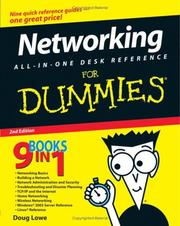 Cover of: Networking All-in-One Desk Reference For Dummies (For Dummies (Computer/Tech))