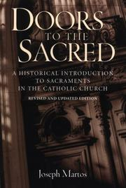 Cover of: Doors to the sacred | Joseph Martos
