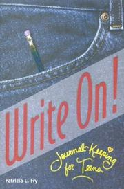 Cover of: Write on