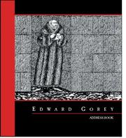 Cover of: Edward Gorey Address Book