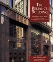 Cover of: The Reliance Building | Jay Pridmore