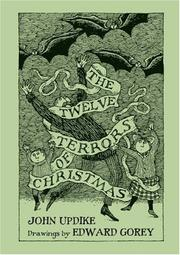 Cover of: The Twelve Terrors of Christmas: Drawings by Edward Gorey