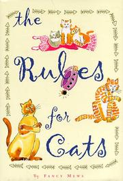 Cover of: The rules for cats