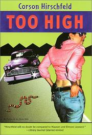 Cover of: Too high | Corson Hirschfeld