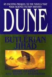 Cover of: The Butlerian Jihad