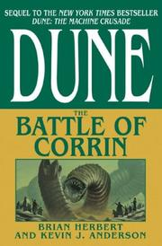 Cover of: The Battle of Corrin