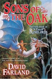 Cover of: Sons of the Oak (Runelords) | David Farland