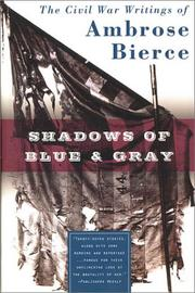 Cover of: Shadows of Blue & Gray | Ambrose Bierce