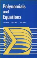Cover of: Polynomials and equations