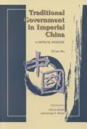 Cover of: Traditional Government in Imperial China