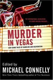 Cover of: Murder in Vegas: New Crime Tales of Gambling and Desperation