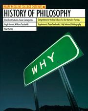 Cover of: HarperCollins College Outline History of Philosophy (Harpercollins College Outline Series) | Dion Scott-Kakure