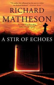 Cover of: A stir of echoes