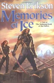 Cover of: Memories of ice: a tale of the Malazan book of the fallen