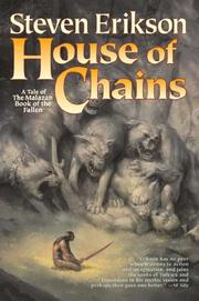 Cover of: House of Chains (The Malazan Book of the Fallen, Book 4)