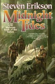 Cover of: Midnight Tides: A Tale of the Malazan Book of the Fallen