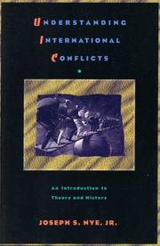 Understanding international conflicts by Joseph S. Nye