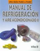 Cover of: Manual De Refrigeracion Y Aire Acondicionado by Luis Lesur