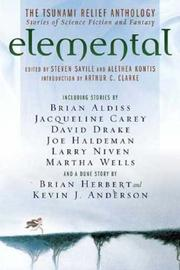 Cover of: Elemental: The Tsunami  Relief Anthology by Steven Savile, Alethea Kontis