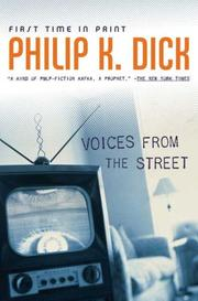 Cover of: Voices From the Street