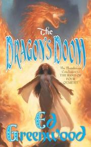 Cover of: The Dragon's Doom (The Band of Four, Book 4)