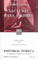 Cover of: Lecturas para mujeres / Books for Women (Sepan Cuantos..Know How Many...)