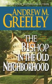 Cover of: The bishop in the old neighborhood: a Blackie Ryan story