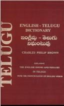 Cover of: English-Telugu Dictionary