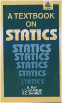 Cover of: Textbook on Statics