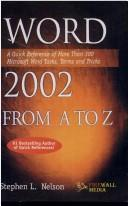 Cover of: Word 2002 from A to Z